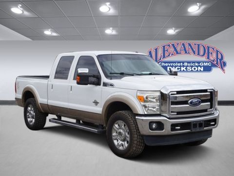Pre-Owned 2013 Ford F-250SD Lariat 4WD