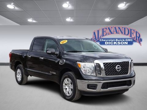 Pre-Owned 2017 Nissan Titan S RWD 4D Crew Cab
