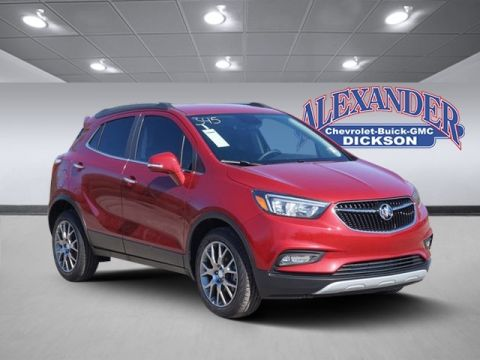 New 2018 Buick Encore Sport Touring FWD 4D Sport Utility
